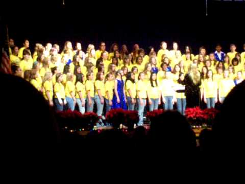Polar Express 'Believe' - Kesling Middle School Choir Concert 12'08'08.MOV