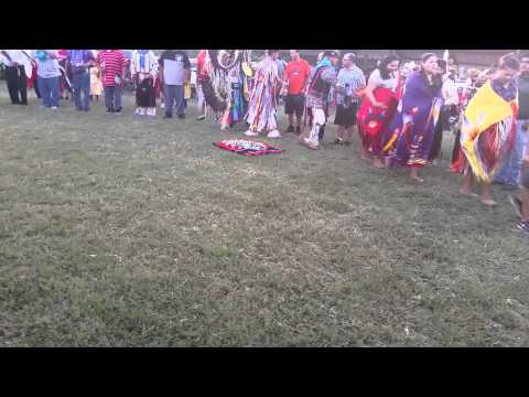 Northern Cree at Comanche Nation Fair 2015