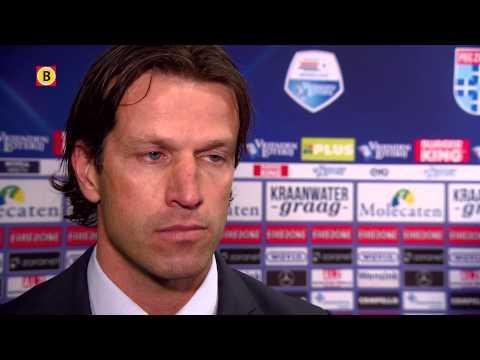 Trainer Ernest Faber na PEC Zwolle - PSV