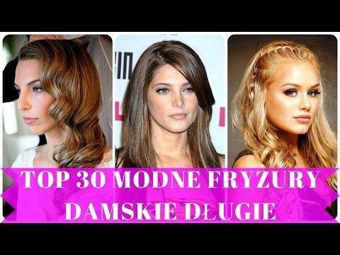 Top 30 Modne Fryzury Damskie Długie