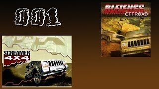 Lets Play Screamer 4x4 or Bleifuss Offroad #001 Der Lernkurs