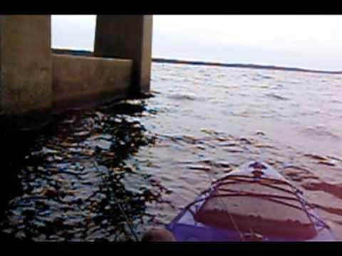 Crappie Fishing on Jordan Lake, NC from my Kayak