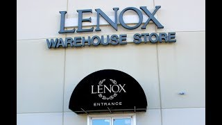 Lenox Warehouse Outlet Black Friday Sale & Haul ~ Shop with Me ~ Amy Learns to Cook