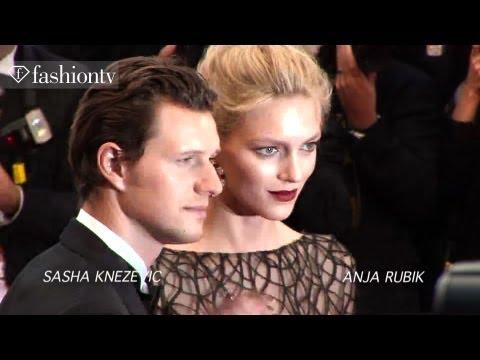 Anja Rubik, Natasha Poly, Lily Donaldson | Cosmopolis Red Carpet, Cannes 2012 | FashionTV