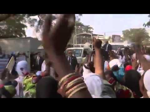 Euronews spins the Papal visit to Central African Republic