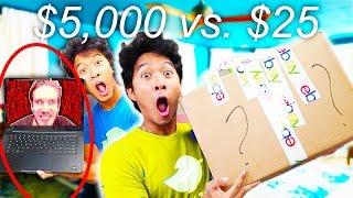 $5,000 Ebay Mystery Box Vs. $25 Mystery Box Ft. RHPC (PACO)