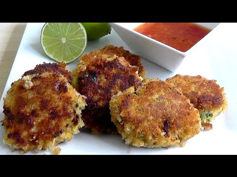How to Make Fish Cakes with Thai curry paste recipe