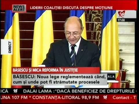 Declaratii Traian Basescu - 25 octombrie 2010