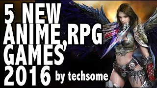 5 New Anime RPG Games 2016 (iOS/Android)