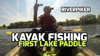 Kayak Fishing - First lake paddle (video 97)