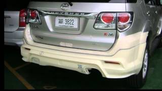 The Making Of New Fortuner 2011 Body Kit.avi