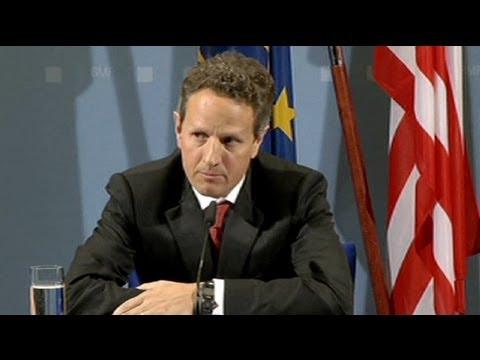 Tim Geithner en Europe pour inciter les européens à agir au plus vite