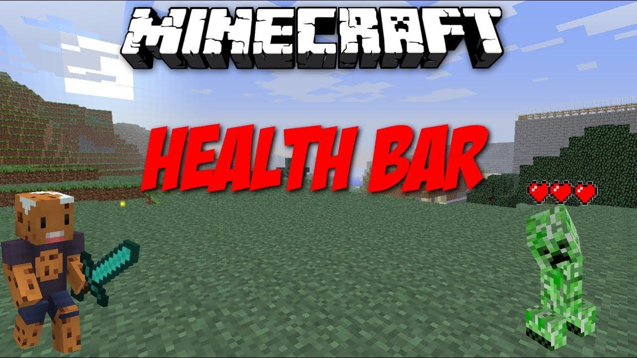 Health Bars Minecraft Minecraft Health Bars Mod