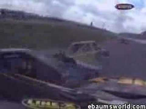 Geoff Bodine Truck Crash Video