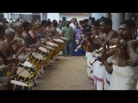 A clip from Thripunithura 2014: Panchari Melam Onnaam kaalam