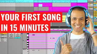 Ableton Live 10 Beginner Tutorial - How to make a song with Ableton Live 10