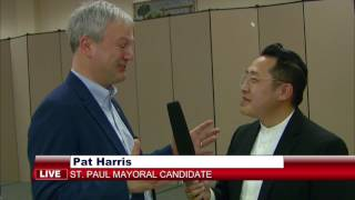 3 HMONG NEWS: Meet Pat Harris, one of the candidates for St. Paul mayor. With HBCTV Chonburi Lee.