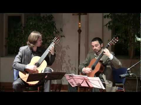 Henderson-Kolk Duo Play Lhoyer Duo Concertant in E minor 2nd movement