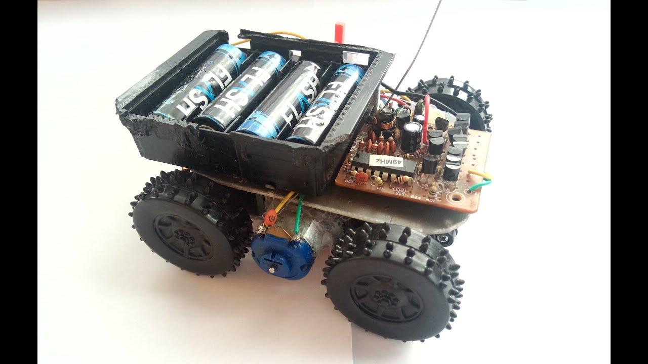 Радиоуправляемая машинка своими руками: rikosha 66