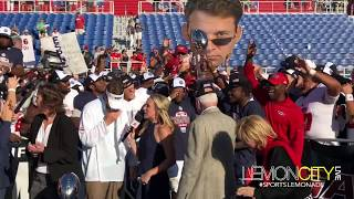 FAU Conference USA Championship Trophy presentation 12-02-2017