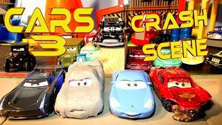 Cars 3 Lightning McQueen Cause of Crash Discovered in Pixar Cars