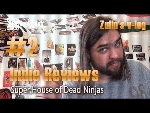 Game Pilot. Zulin`s v-log: indie reviews - Super House of Dead Ninjas. Выпуск 2.