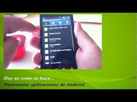 CSH: instalar archivos APK. borrar apps Android. pasar videos al iPad. listas reproducción