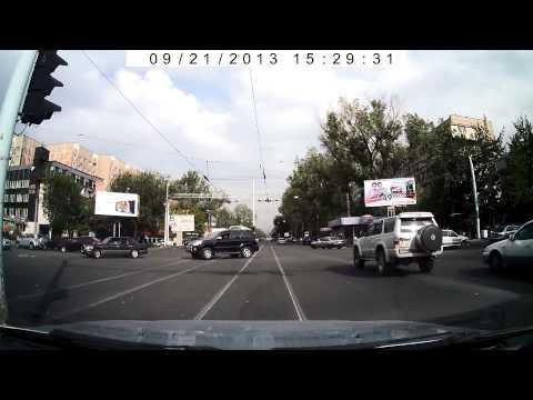 Алматы, трамвай, тойота