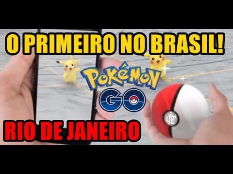 POKÉMON GO! - O PRIMEIRO NO BRASIL - RIO DE JANEIRO - FEBRE MUNDIAL!