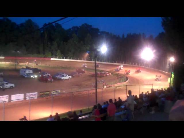 East Lincoln Speedway: June 19, 2010 Highlights