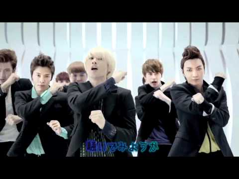 Super Junior 『 Mr.simple 』日本版 [ 歌詞つき ] Mv video