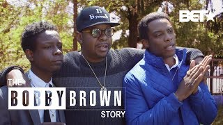Bobby Brown Goes Behind-The-Scenes With EVERY Actor | The Bobby Brown Story