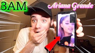 Baixar (Insane) CALLING The Real Ariana Grande on FaceTime at 3AM! (She Got Mad)