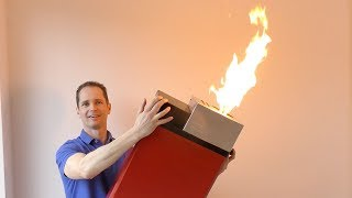 Is BIGGER BETTER ? - INSANE GIANT LIGHTER Tests