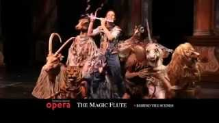 The Magic Flute, behind the scenes - Florida Grand Opera