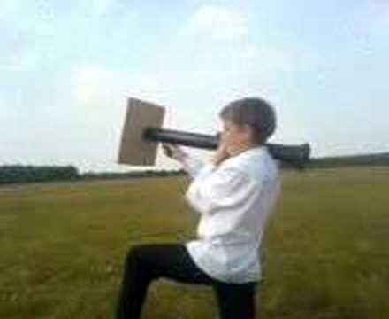 homemade rocket launcher lol