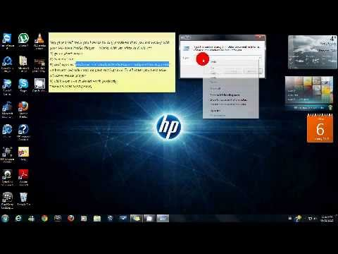 How to fix all Windows Media Player Problems (xp, Vista, Win7)