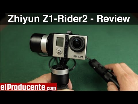 Z1-Rider2 - 3-axis Gimbal for GoPro & SJCAM - Review & Demo Footage