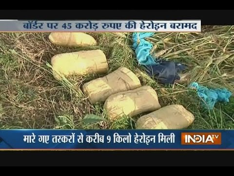 2 Smugglers Killed at the International Border, 9KG Heroin Seized