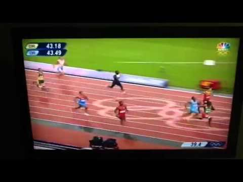 Oscar Pistorius Races In The 2012 Olympics video