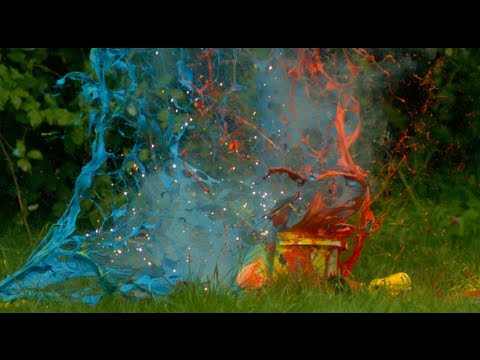 Paint Explosions - The Slow Mo Guys