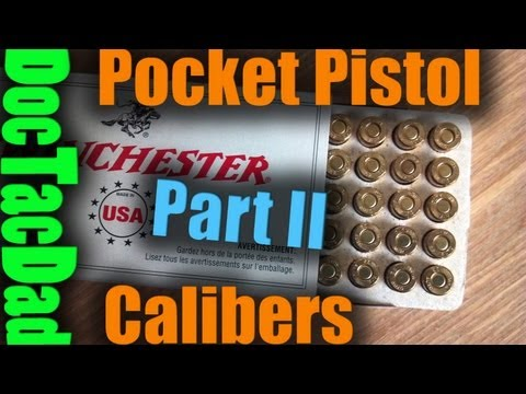 Pocket Pistol Calibers Part II - .32 ACP