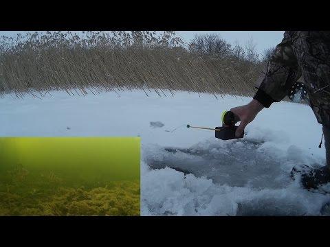 Зимняя Рыбалка С Электронной Удочкой   Ice Fishing with an ciber fishing-rod