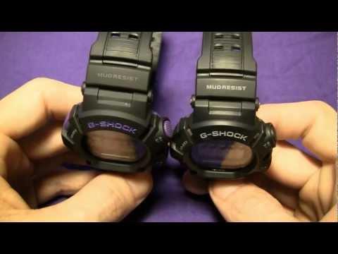Purple Mudman G-9000BP & Crappy G Shock Reviews I've Seen
