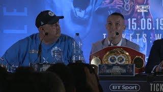 He's talking b*******! | Best bits from final Warrington vs Galahad press conference