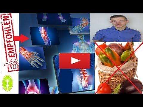 Rheumatoide Arthritis Ernährung - diese Lebensmitteln nicht essen! Nachtschattengewächse