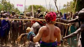 Ethiopian Suri Stick Fighting  - Last Man Standing Part 5