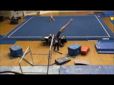 Kate Exley - Level 8 Bars - Delta Classic 2013 - San Mateo Gymnastics - 9.75