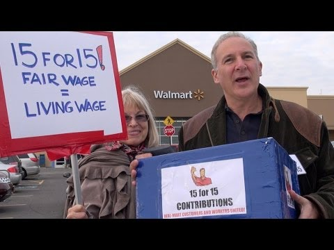 "Will Walmart shoppers support ""Every Day High Wages?"""