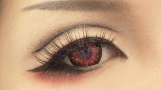 Tutorial : Anime Eye Makeup 1